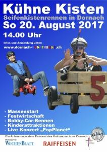 Flyer Seifenkistenrennen 2017